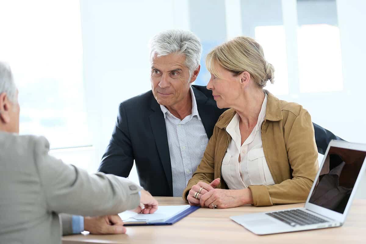Client Meeting Financial Adviser